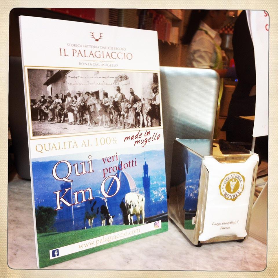 latte fresco palagiaccio gelateria royale a Firenze