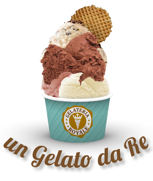 un gelato da Re - Gelateria Royale