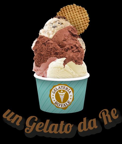 un gelato da Re - Gelateria Royale